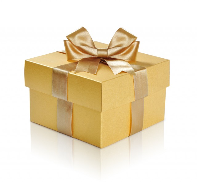Gift Box Gold : Daybreaks for a gold box filled with love