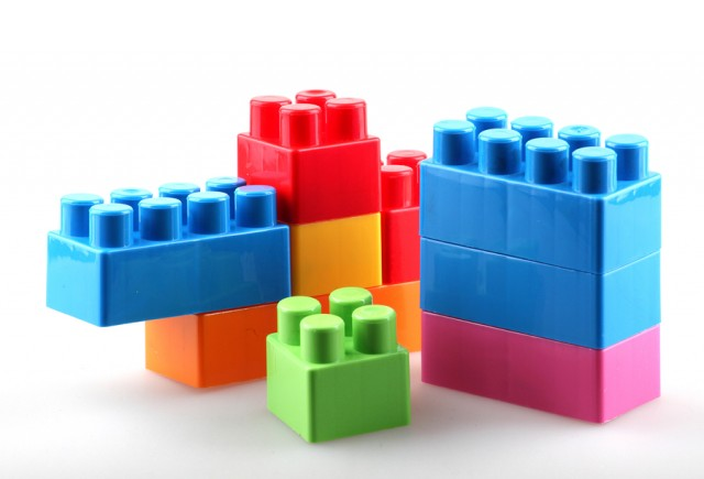 Lessons from legos for Large acrylic block