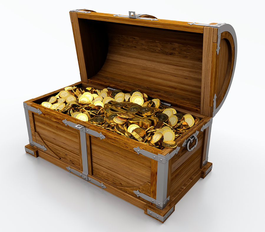 how to make a big treasure chest