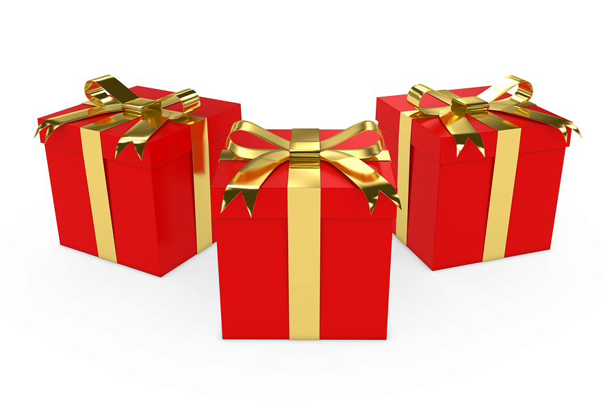 Three christmas gifts allworship