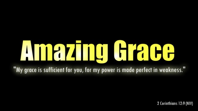 A popular Bible verse that describes God's amazing grace for his people.